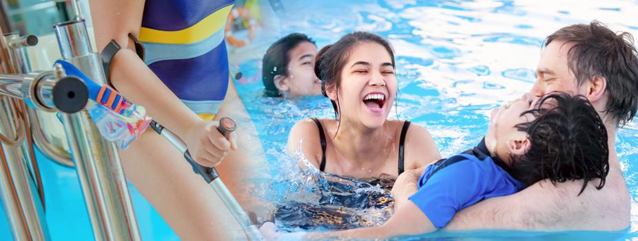 Zwemmen voor mensen met een beperking Rotterdam