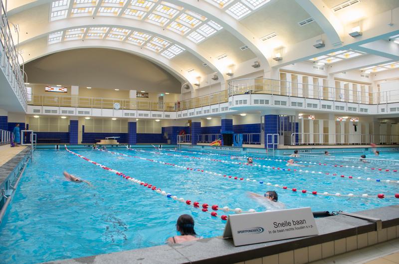 Oostelijk zwembad rotterdam zwemt